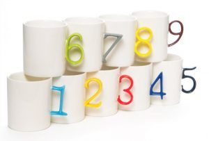 number of mugs