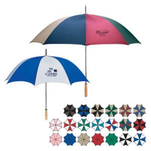 umbrellas as a business logo